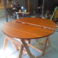So here is my dinning room table. My sister found it at Habitat for Humanity in Guelph for $35.00. It didn't have the leaf as I suspect it is in […]